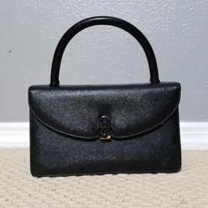 VINTAGE 1950'S Prestige Patent Leather Box Purse